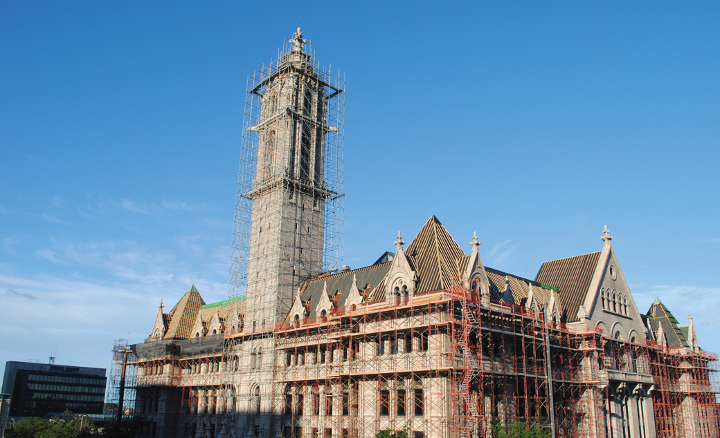 Preserving Buffalo's skyline - Grove Roofing Services restores multiple roof systems on Erie Community College