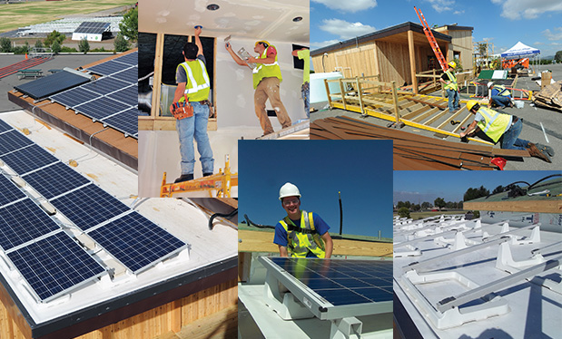 A tale of two contractors - NRCA members in New York and California team up to help students compete in the Solar Decathlon