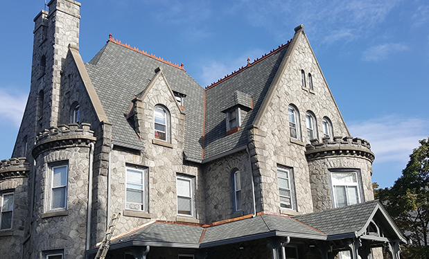 Fit for a king - Clarity Contractors installs new roof systems on The Castle at Widener University