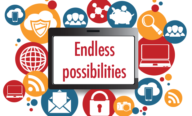 Endless possibilities - Technology offers great potential for company growth