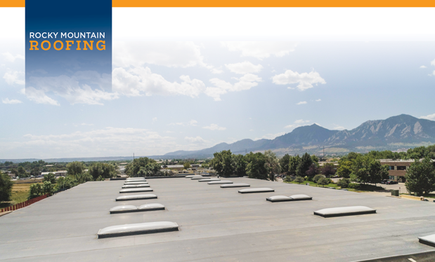 Rocky Mountain roofing - Black Roofing designs and installs a roof system for high winds