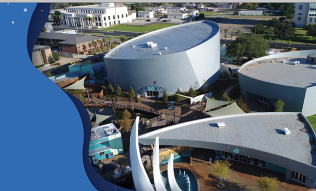 Roofing an aquarium - Roofing Solutions helps design and construct a new tourist attraction in Mississippi
