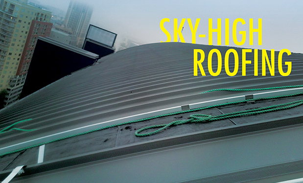 Sky-high roofing - Chamberlin Roofing & Waterproofing installs the roof systems on SkyHouse® Austin