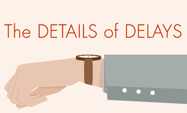 The details of delays - Construction delays and their consequences depend on several variables
