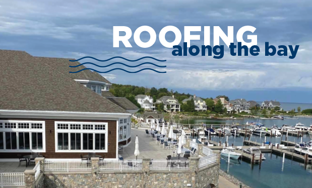 Roofing along the bay - Doyle Inc. Roofing helps renovate Bay Harbor Yacht Club