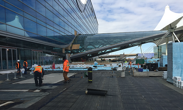 Mile-high roofing - Black Roofing helps build Denver International Airport's south terminal