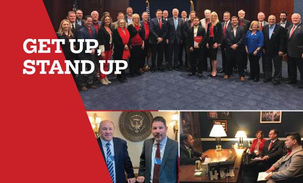 Get up, stand up - The roofing industry bands together to lobby in Washington, D.C.