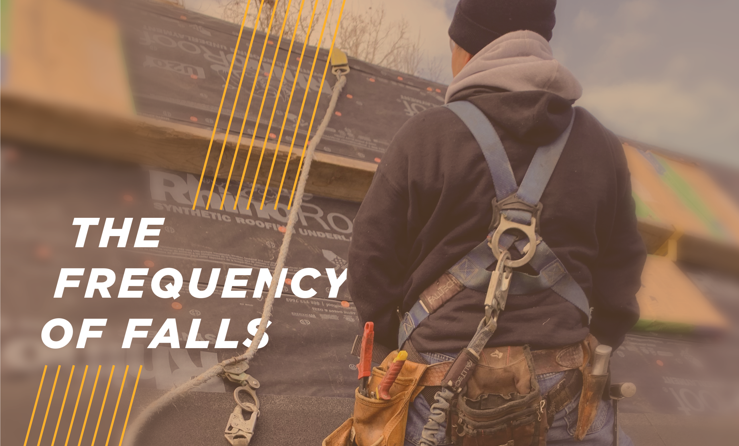 The frequency of falls - Despite safety measures, fatal falls continue to plague the roofing industry