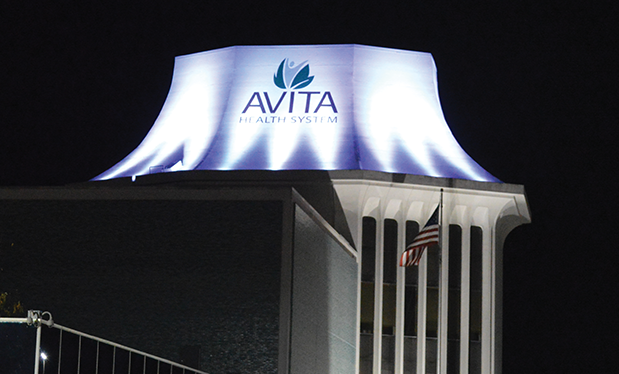 Roofing with ingenuity  - Alumni Roofing helps redesign the Avita Health System tower