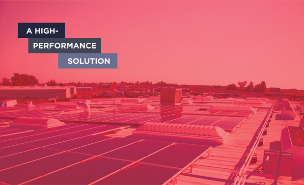 A high-performance solution - Combining SPF and PV can provide energy savings and sustainability