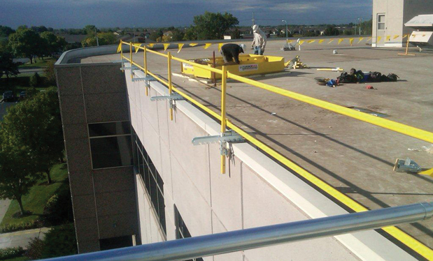 Making the right choice - OSHA requirements may complicate fall protection for single-ply roof systems