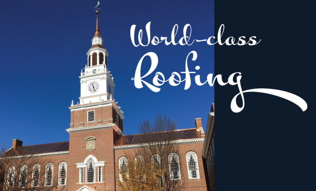 World-class roofing - Mahan Slate Roofing restores Dartmouth College's Baker Tower