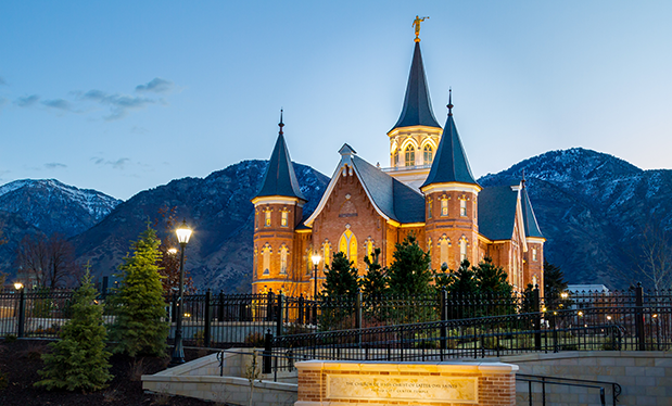 Out of the ashes - Utah Tile and Roofing helps rebuild Utah's Provo City Center Temple