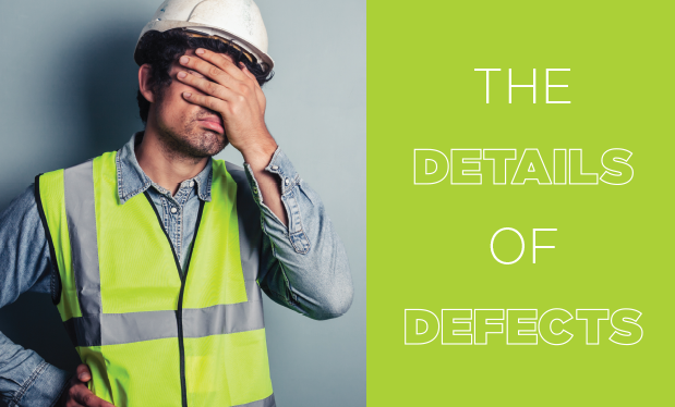 The details of defects - You made a mistake installing a roof system. What is your liability?
