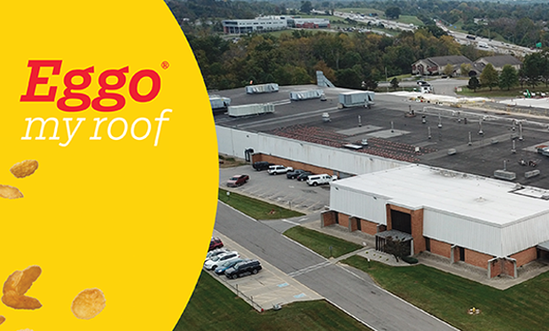 Eggo® my roof - CFE demonstrates safety skills on Kellogg's® production facility in Kentucky