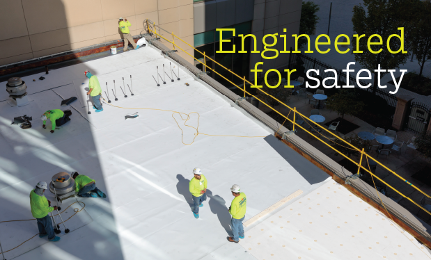 Engineered for safety - Nations Roof® helps modernize the Rolls-Royce facility in Indianapolis