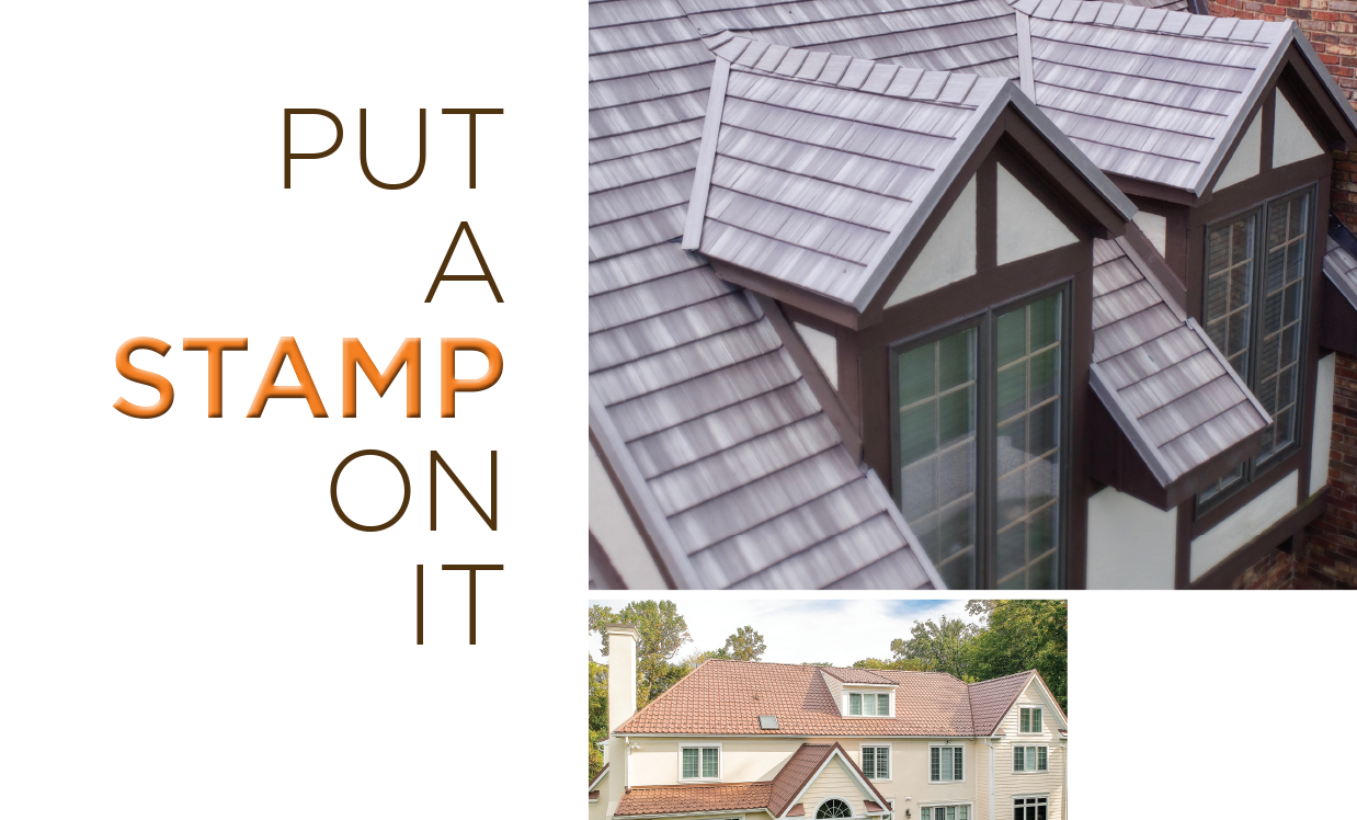Put a stamp on it - Properly installling stamped panel metal roofing creates standout projects.