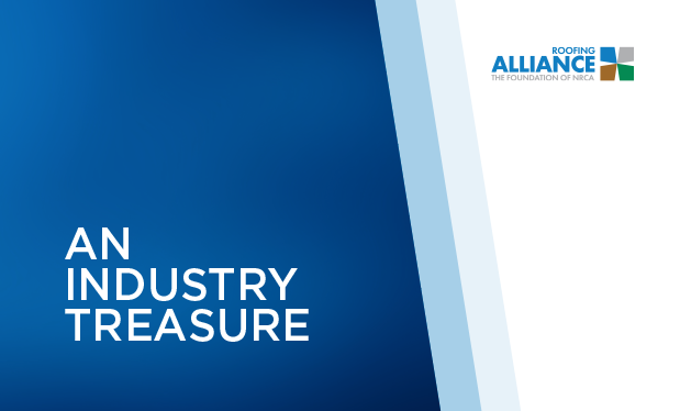 An industry treasure - The Roofing Alliance launches more initiatives
