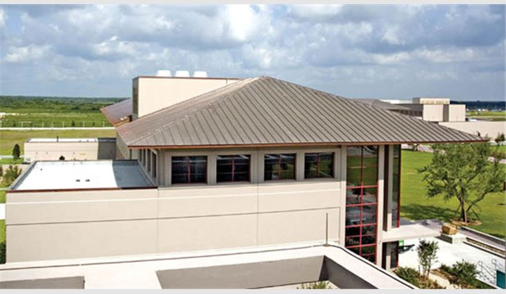 Double Lock Standing Seam Copper Roofing Was Installed On Some Of Ave  Mariau0027s Condominiums