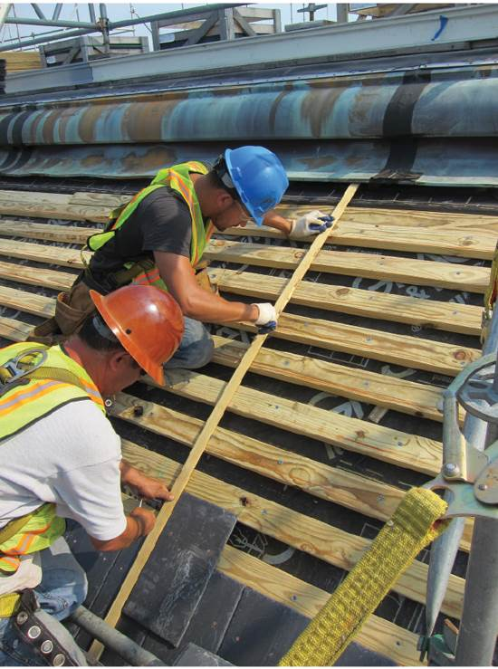 All Hands On Roof Deck Professional Roofing Magazine