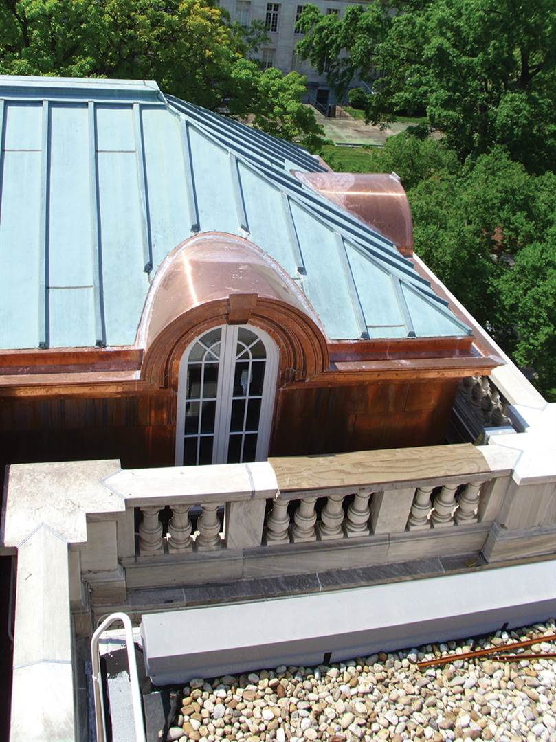 Revolutionary roofing professional roofing magazine for Barrel dormer