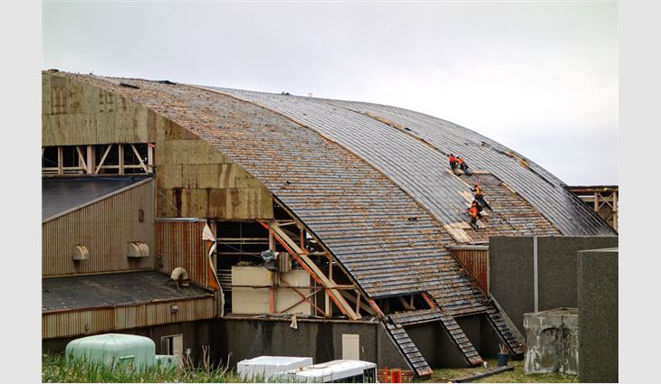 Reroofing the last frontier professional roofing magazine for 3999 roof