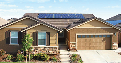 Beginning Jan. 1, 2020, all new single-family homes in California are required to include solar.