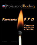 Professional Roofing Magazine 1/1/2009