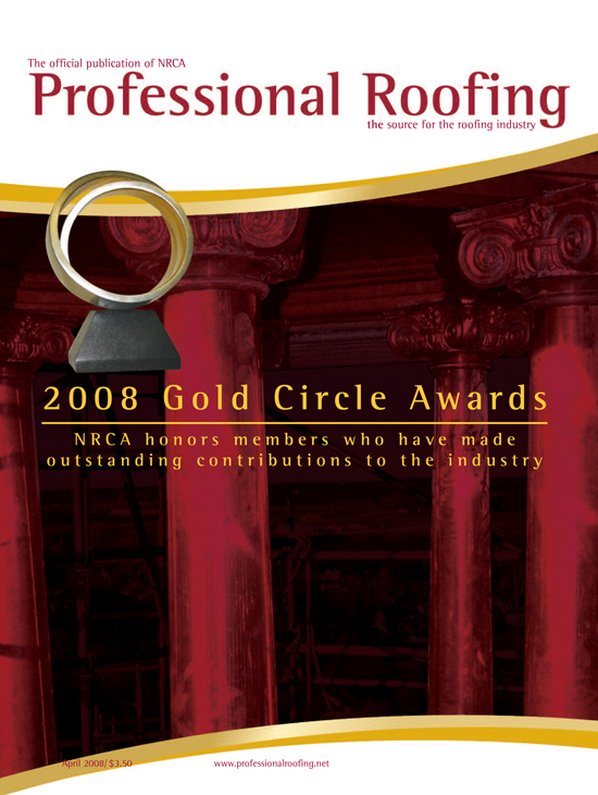 Professional Roofing Magazine 4/1/2008