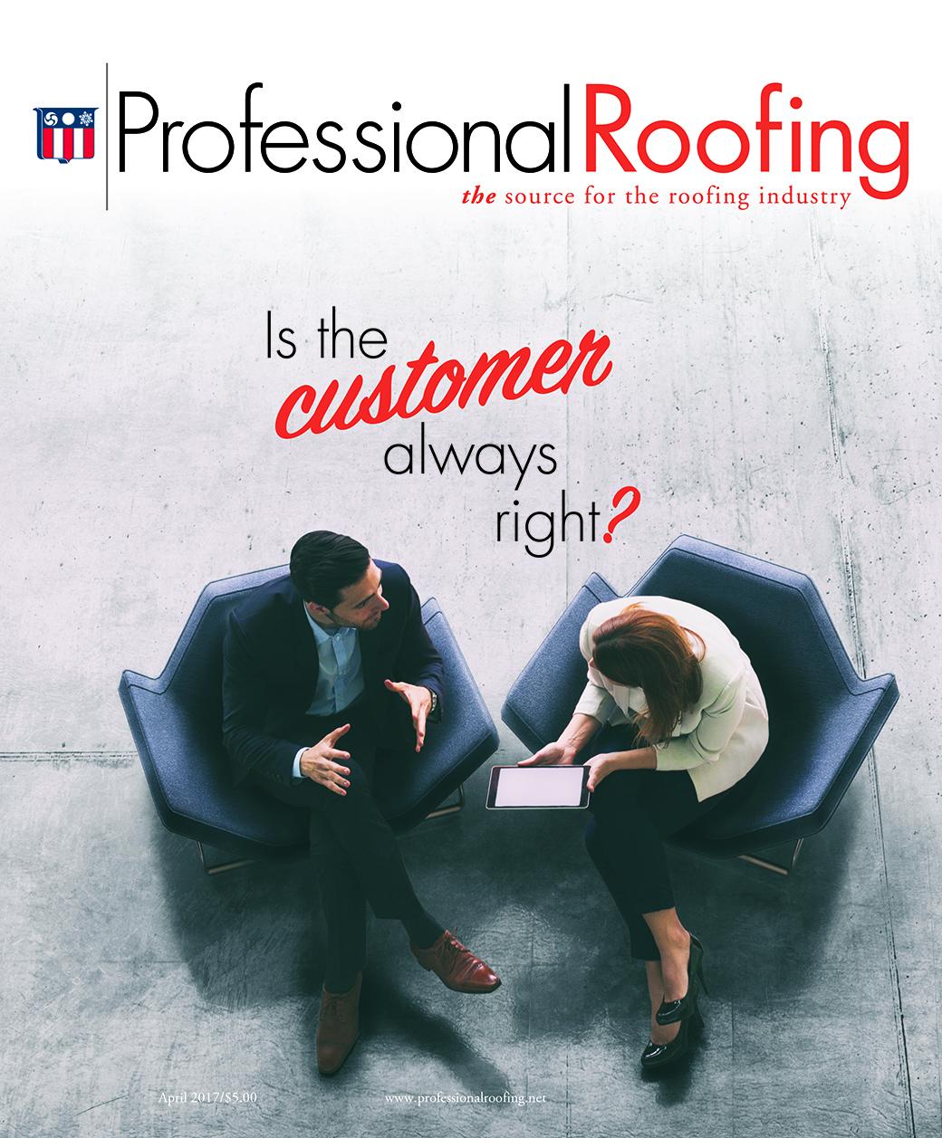 Professional Roofing Magazine 4/1/2017