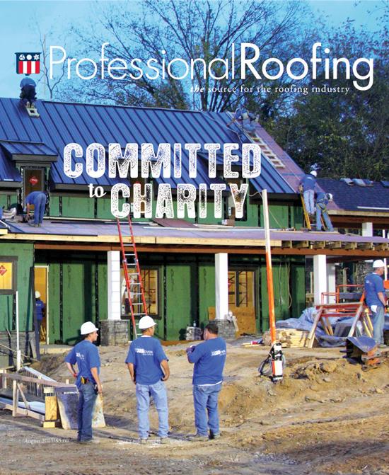 Professional Roofing Magazine 8/1/2011