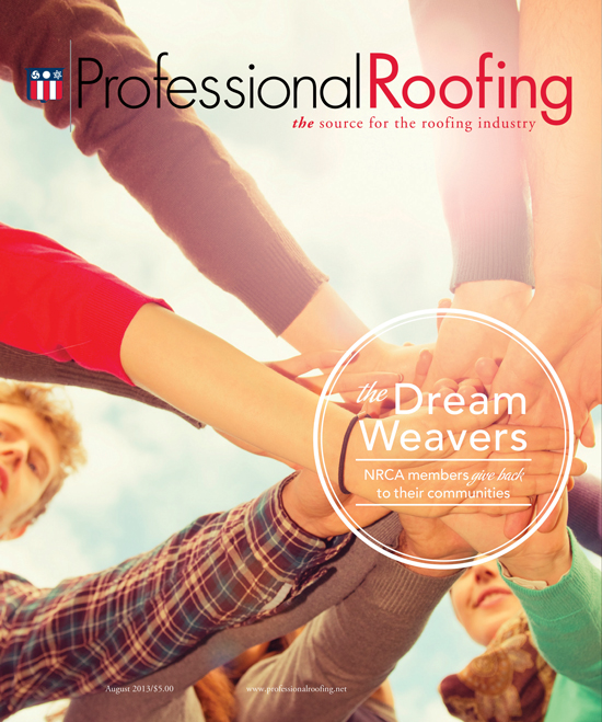 Professional Roofing Magazine 8/1/2013