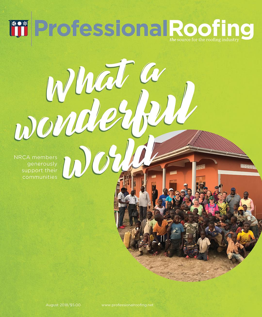 Professional Roofing Magazine 8/1/2018