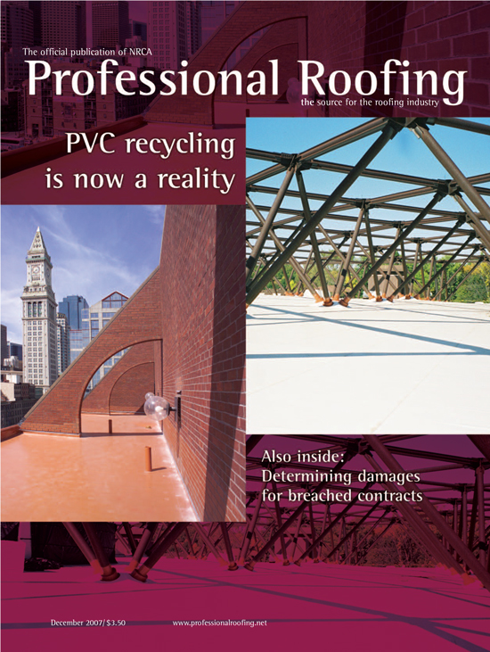 Professional Roofing Magazine 12/1/2007