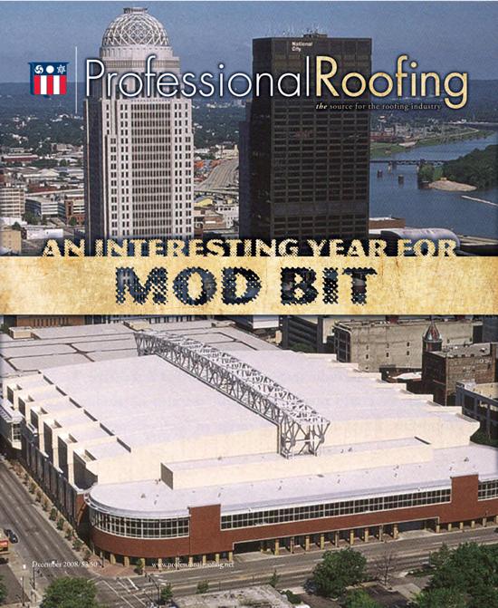 Professional Roofing Magazine 12/1/2008