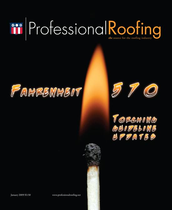Professional Roofing Magazine 1/1/2009