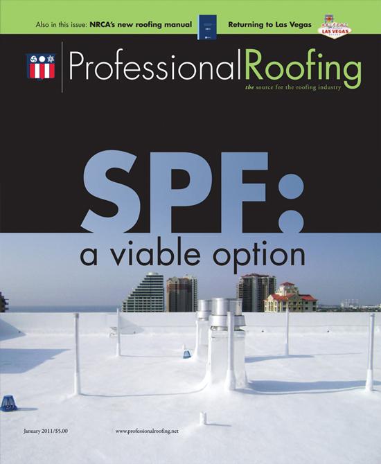 Professional Roofing Magazine 1/1/2011