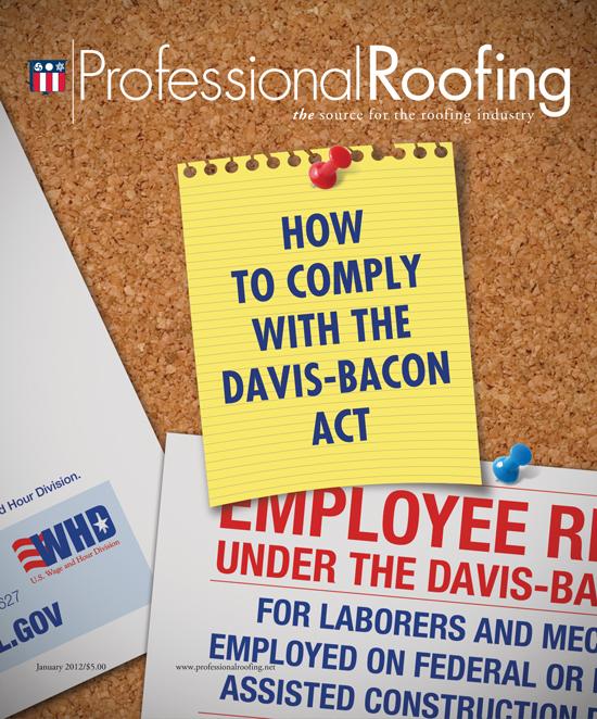 Professional Roofing Magazine 1/1/2012