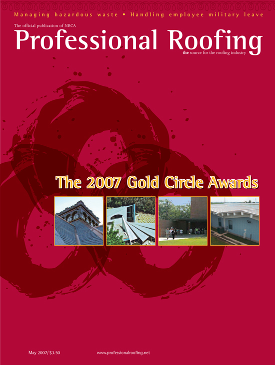Professional Roofing Magazine 5/1/2007