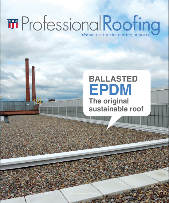 Professional Roofing Magazine 11/1/2013