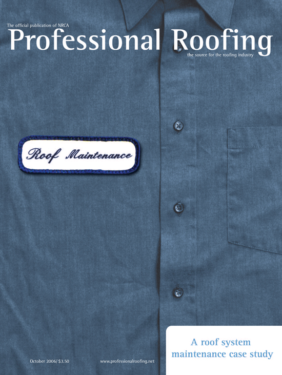 Professional Roofing Magazine 10/1/2006