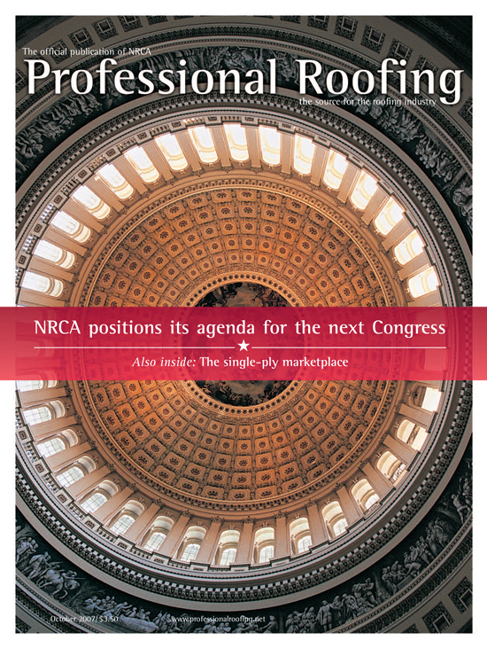 Professional Roofing Magazine 10/1/2007