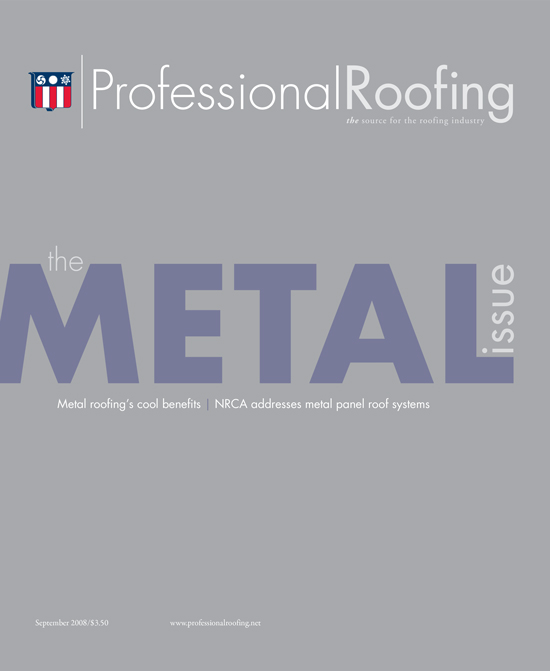Professional Roofing Magazine 9/1/2008