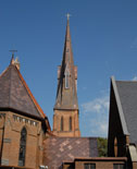 Gothic revival in the South - Alabama's Church of the Nativity is blessed with new copper roof systems
