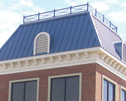 A Dutch design - Marty Robbins Roofing installs a Dutch-inspired roof system on Eye Center South