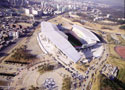 In the zone - The Suwon World Cup Stadium in South Korea features a TPO roof system