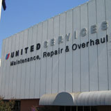 Flying high - Western Roofing Service replaces the roof on a United Airlines maintenance facility