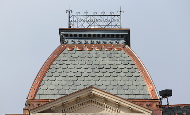 A case of honorable roofing - Kalkreuth Roofing and Sheet Metal helps renovate Ohio's Harrison County Courthouse