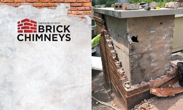 The problem with brick chimneys - Chimneys can be easily fixed if you know where to look