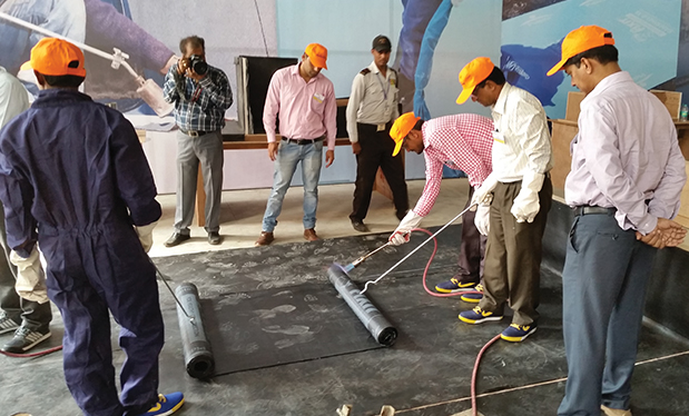 International intelligence - NRCA's training in India helps advance the roofing industry